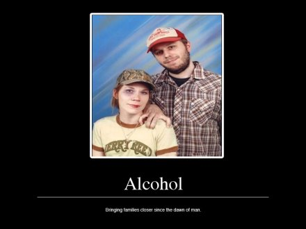 Alcohol: bringing families together since the dawn of man