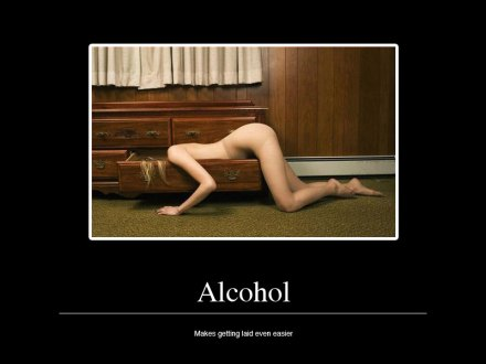 Alcohol: makes getting laid a lot easier